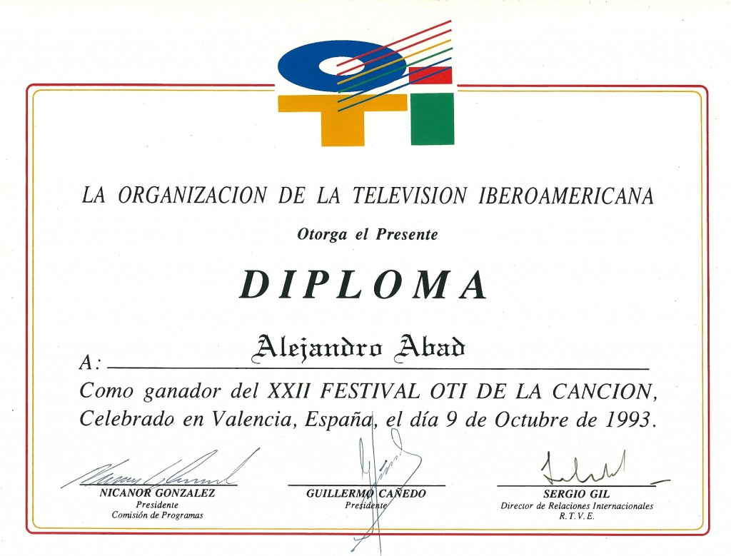 """""""PRODUCTOR MUSICAL"""" ALEJANDRO ABAD"""