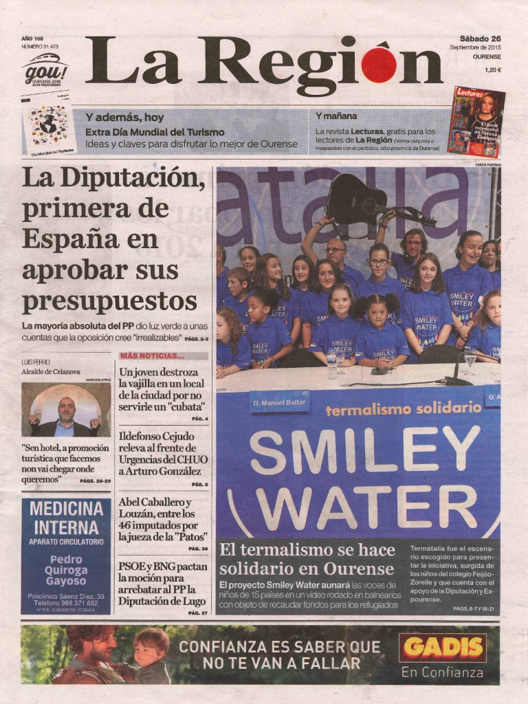 ALEJANDRO ABAD - PRODUCTOR MUSICAL - SMILEY WATER